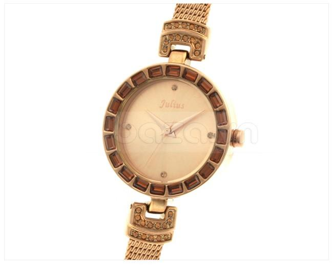 Đồng hồ nữ Julius JA491 mặt tròn
