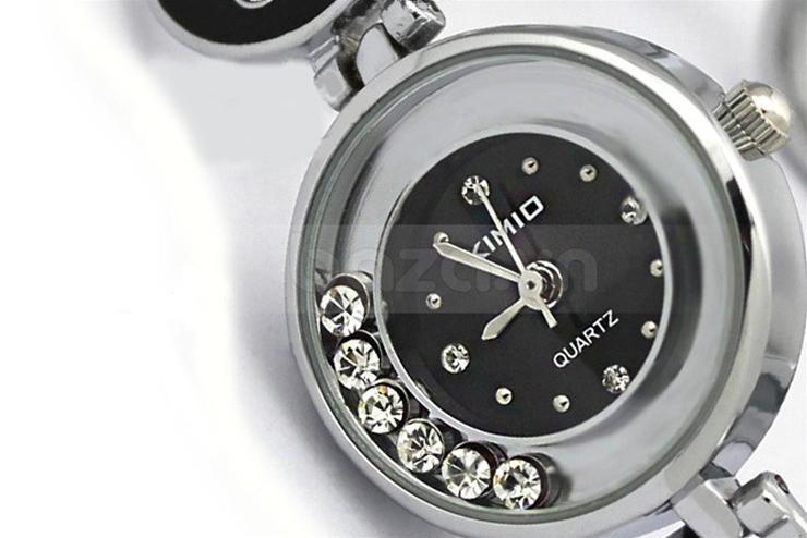 Đồng hồ lắc tay Kimio  đính pha lê lấp lánh