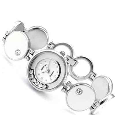 Đồng hồ thời trang Hàn Quốc Happy Time (Trắng (N1))