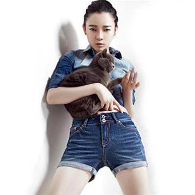 Quần short bò Phong Cách Hàn Quốc size 26