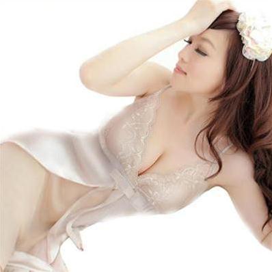 Đầm ngủ xếp vạt thắt nơ ngực Hamuse