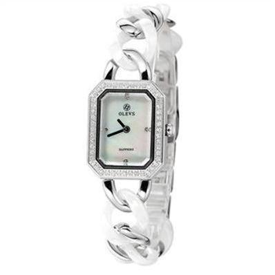 Đồng hồ nữ mặt vuông thời trang Olevs