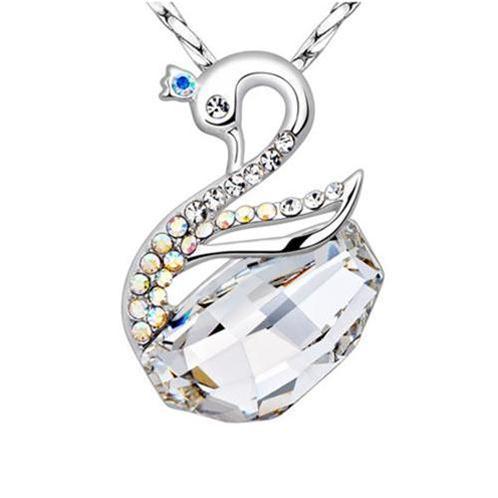 Dây chuyền Thiên Nga Trắng Nữ Hoàng bạc 925