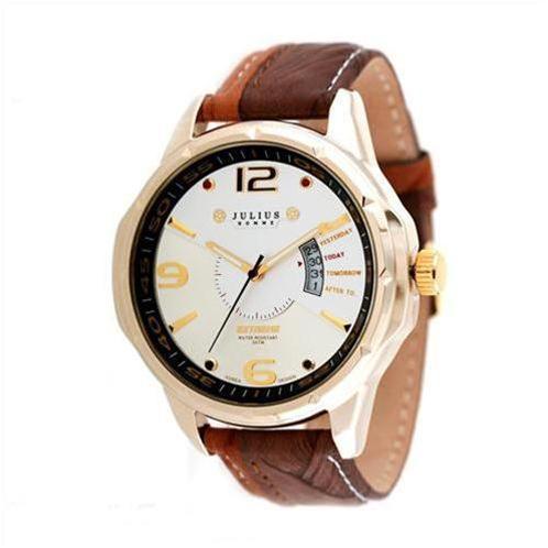 Đồng hồ nam thời trang Julius JAH033 dây da màu sắc