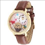 Đồng hồ nữ Mini MN962 Mặt hình cún con dễ thương
