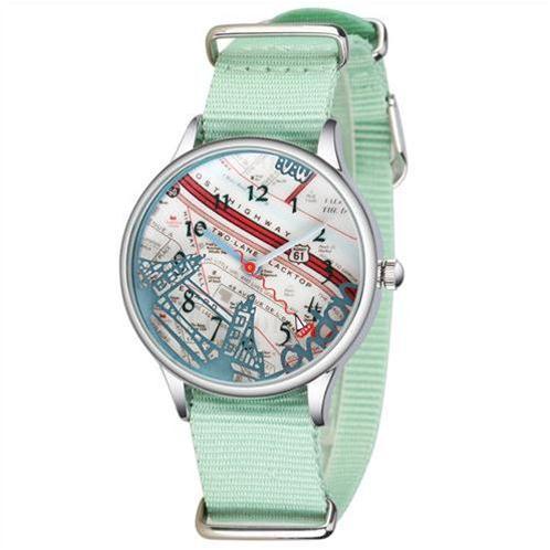Đồng hồ thời trang nữ Mini MN2003 mặt hình London