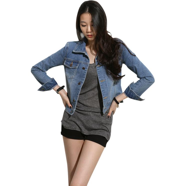 Áo khoác jean nữ Mooti
