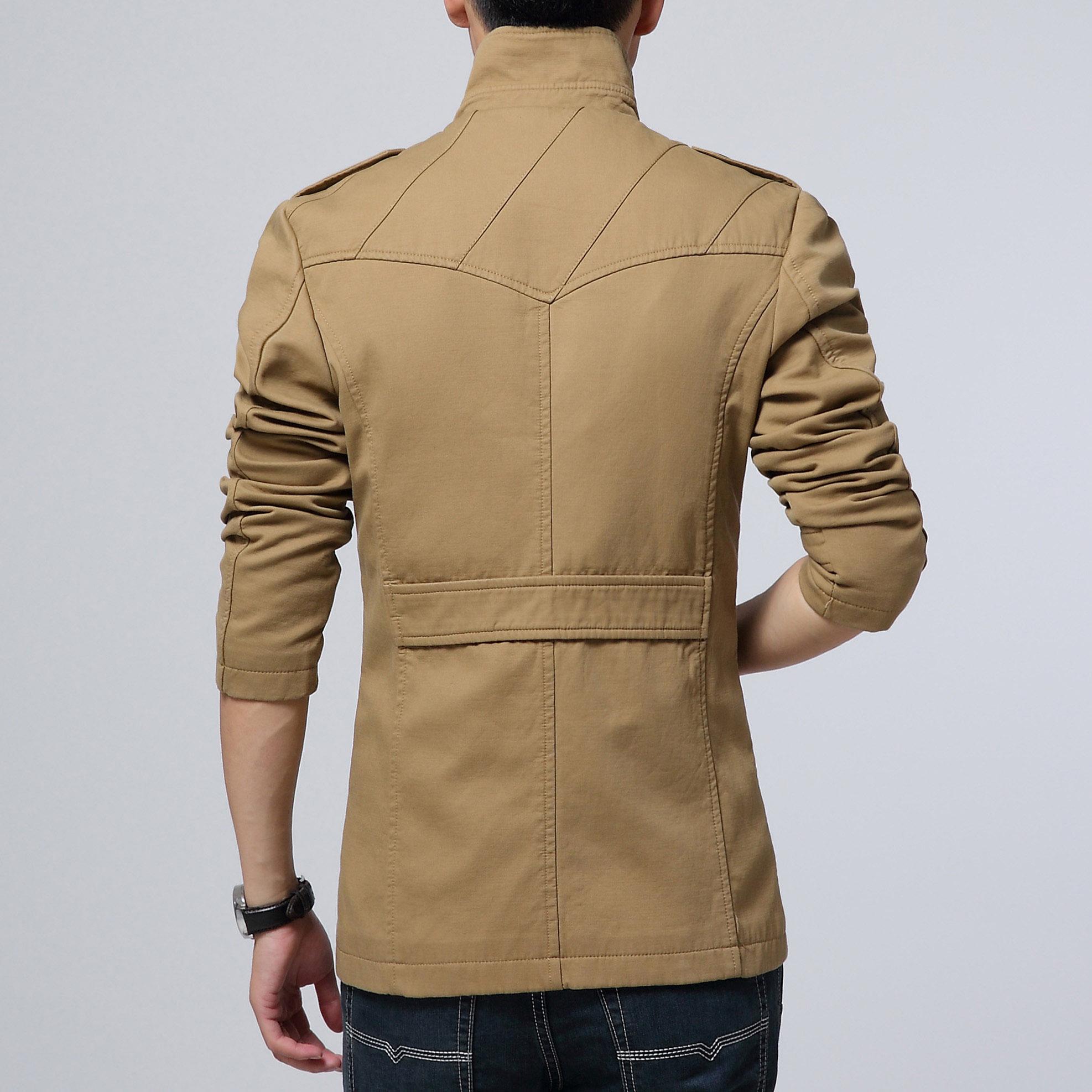 Áo khoác kaki nam kiểu Hàn CTHAPINE