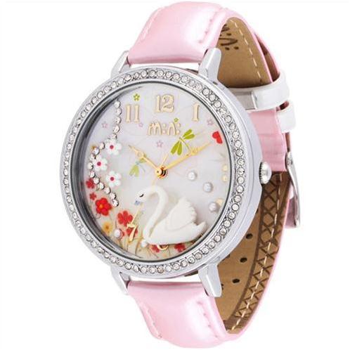 Đồng hồ nữ Mini Thiên nga trắng chất lượng cao cấp