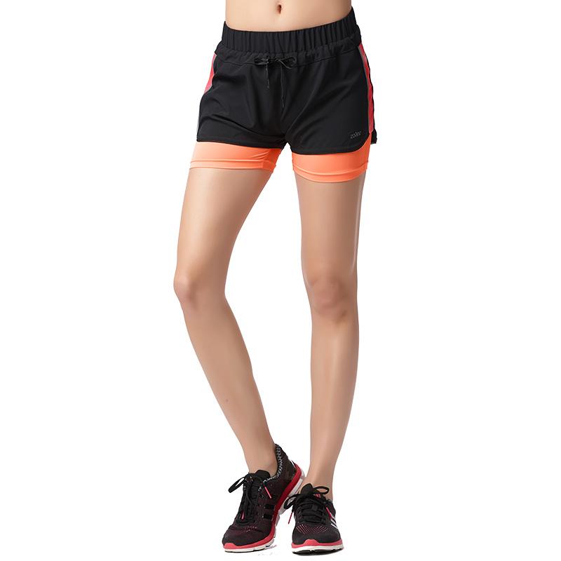 Quần short thể thao nữ Zoano cạp chun đính nơ