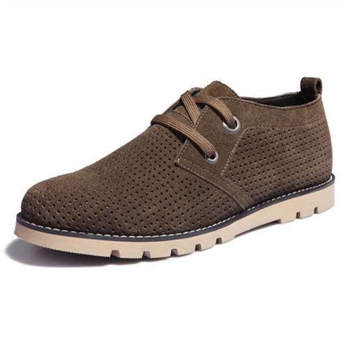 Giày da lộn Simier 2111 phong cách