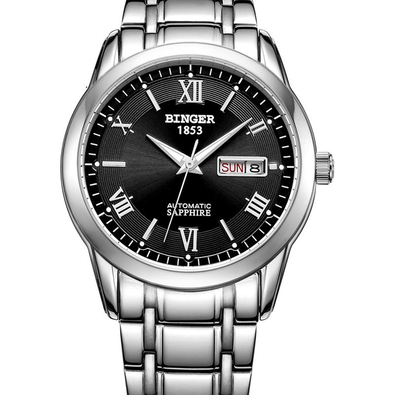 Đồng hồ đeo tay nam Binger phong cách doanh nhân