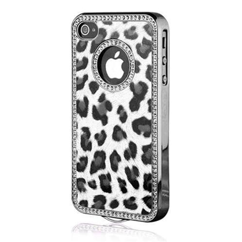 Vỏ Iphone 4/4S Leopard Chrome