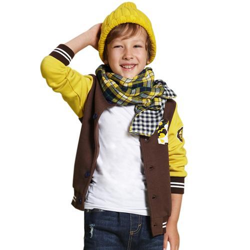 Áo khoác nỉ cho bé trai Tiger Mini XH14CJK0267