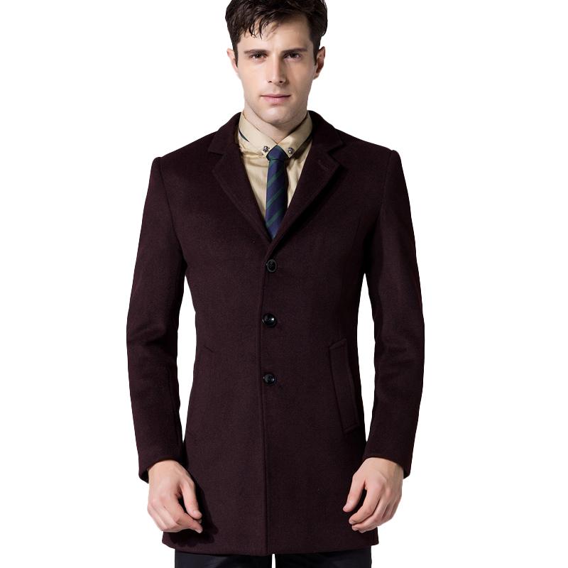 Áo khoác Top Coat dạ lông cừu KSLPT cổ gập xẻ lưng sau