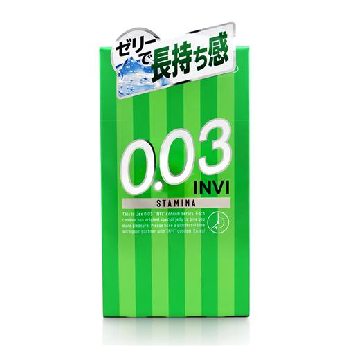 Bao cao su chống xuất tinh sớm Jex INVi 003 STAMINA