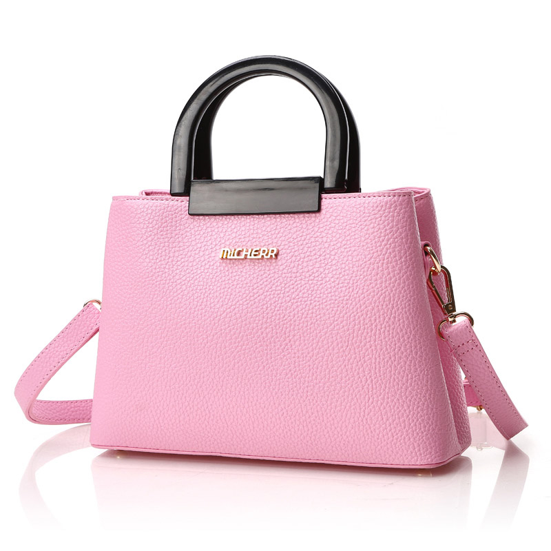 Túi xách satchel 2 ngăn khóa Micherr