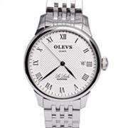 Đồng hồ nam Olevs Romantic L41 (Trắng dây kim loại (N3))