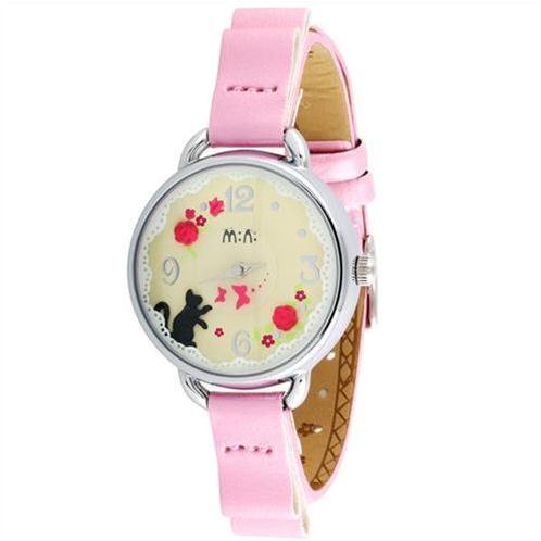 Đồng hồ nữ Mini Mèo con vui vẻ