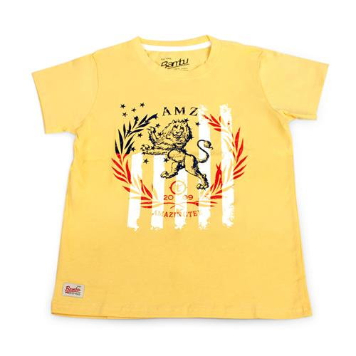Áo phông bé trai hình sư tử Sài Gòn Kid
