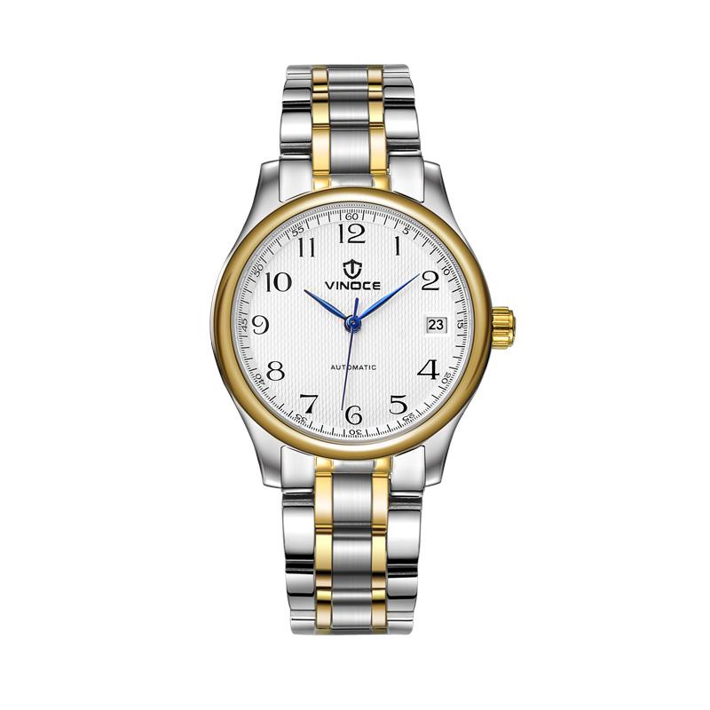 Đồng hồ nữ Vinoce dây kim loại
