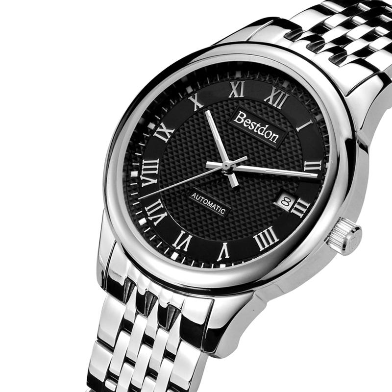 Đồng hồ nam Bestdon dây thép