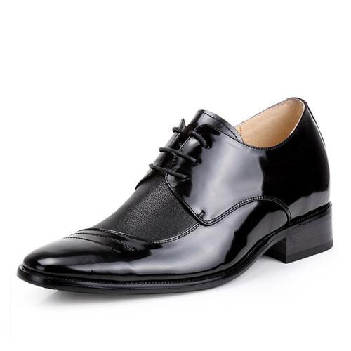 Giày nam tăng chiều cao GOG 22259 Mũi nhọn thời trang