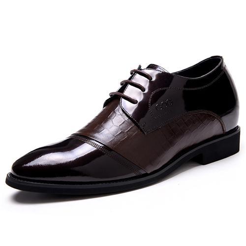 Giày nam tăng chiều cao GOG CP0GF491 Họa tiết hoa văn ấn tượng
