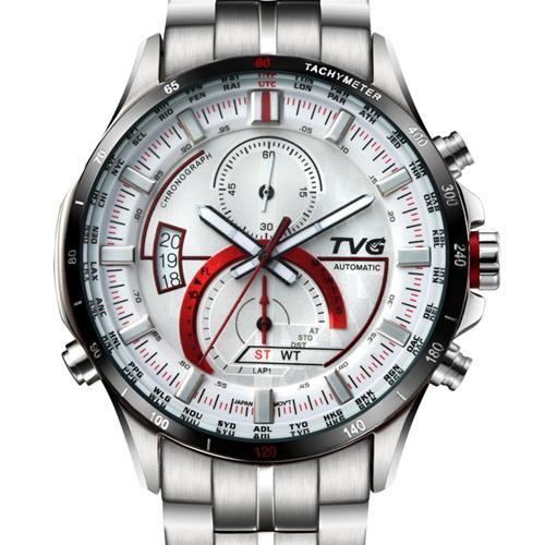Đồng hồ điện tử nam kính sapphire TVG KM-A500G
