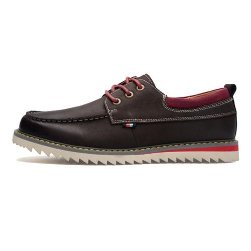 Giày da nam đế răng cưa Simier 8125