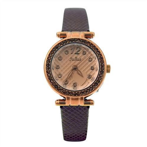 Đồng hồ nữ pha lê Hàn Quốc Julius JA-701