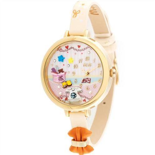 Đồng hồ nữ Mini MN938 dây da gắn nơ