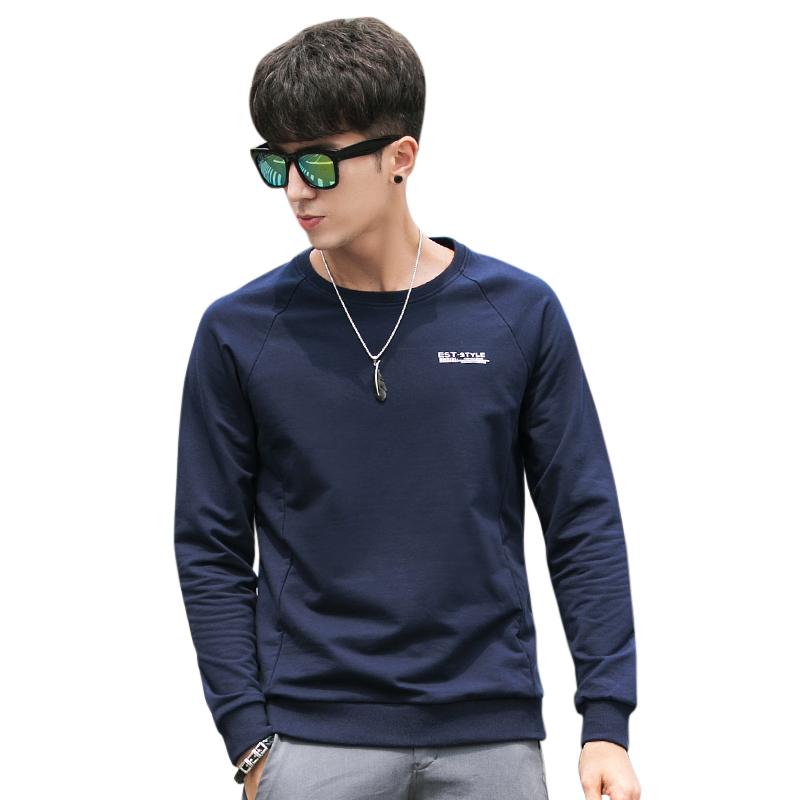 Áo T-shirt nam dài tay No1Dara cổ tròn style Hàn Quốc