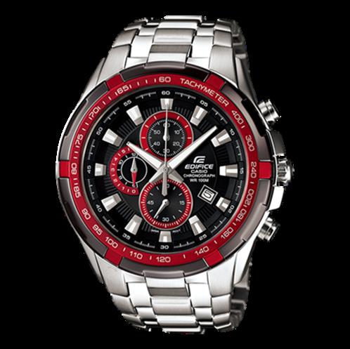 Đồng hồ Casio EF-539D-1A4VDF (Mặt Đỏ - Đen (N5))-CA0003-5