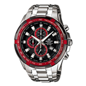 Đồng hồ Casio EF-539D-1A4VDF (Mặt Đỏ - Đen (N5))