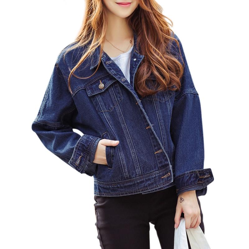 Áo khoác jeans nữ phong cách Hàn Quốc Mooti