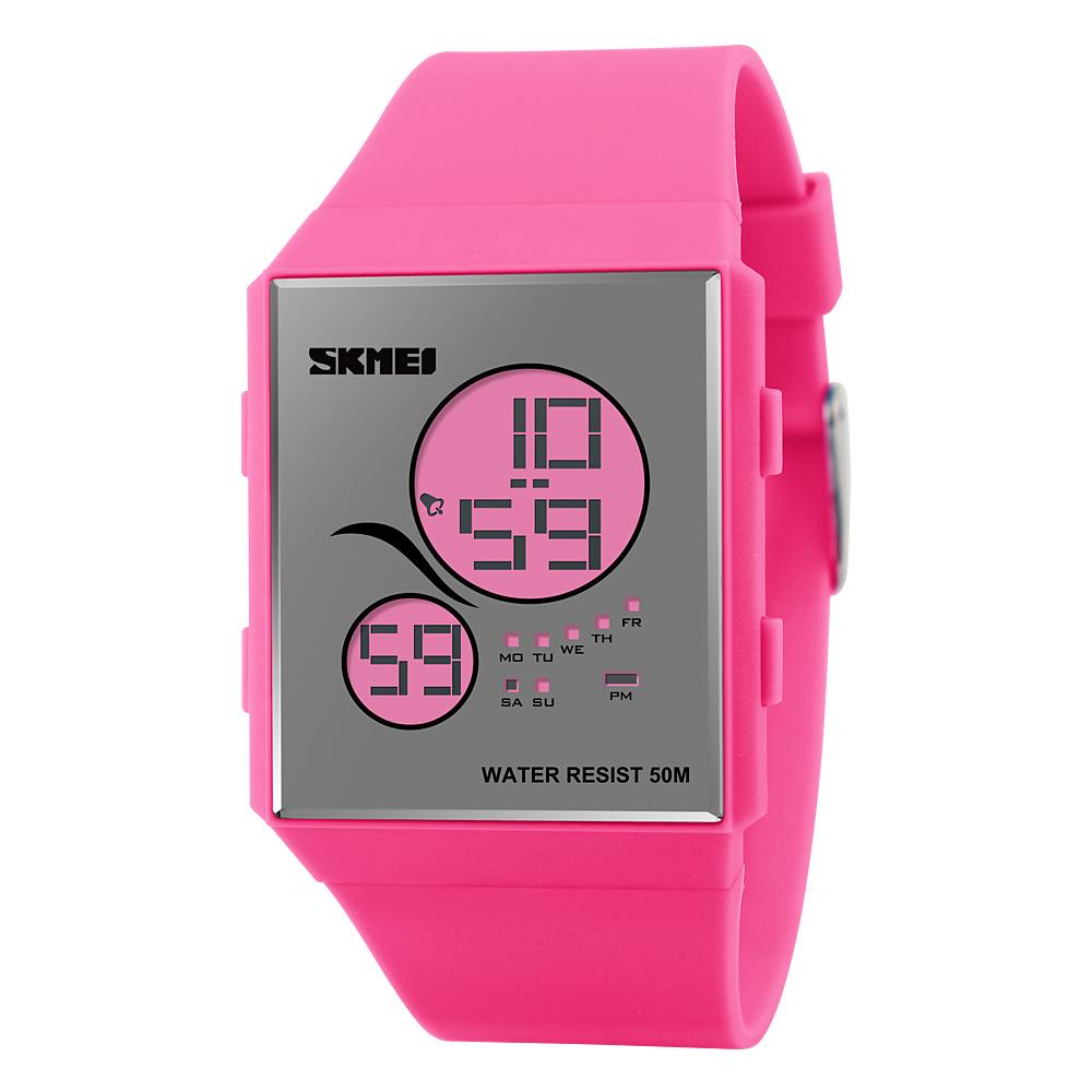 Đồng hồ điện tử Skmei Unisex Teddy bear siêu mỏng