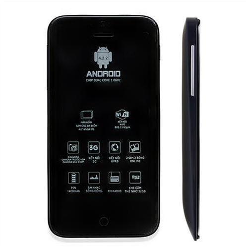 Điện thoại cảm ứng Masstel M390 (tặng sim Viettel)
