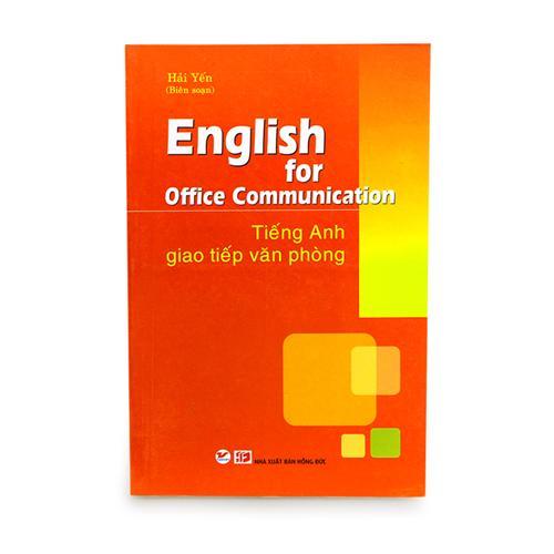 Tiếng Anh giao tiếp văn phòng