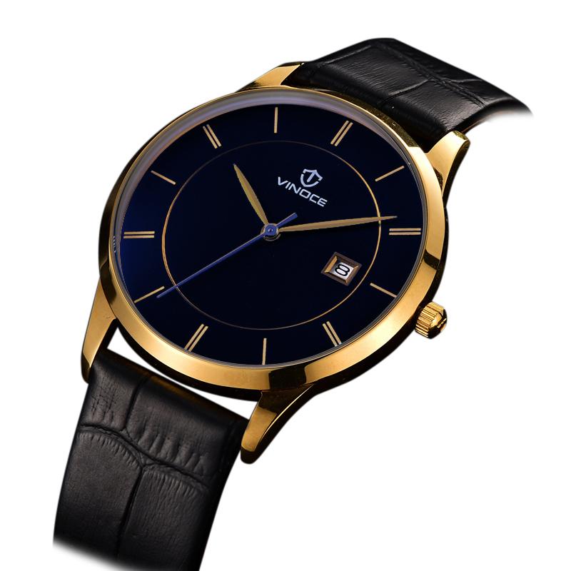 Đồng hồ nam Vinoce phong cách minimalism