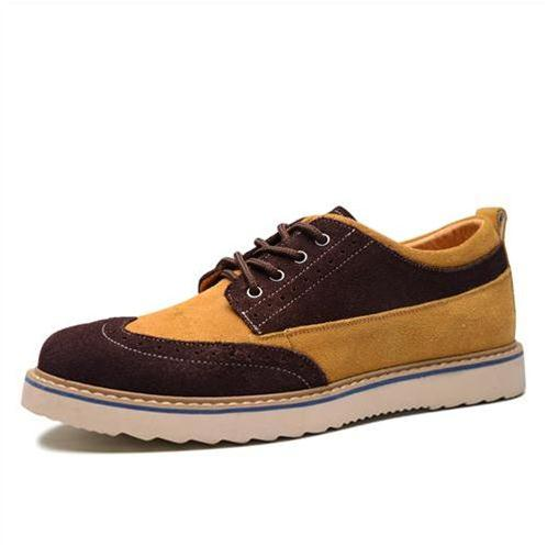 Giày nam da lộn thời trang Simier 6768