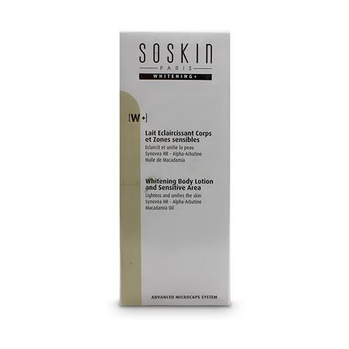 Kem dưỡng thể Soskin Whitening Body Lotion and Sensitive Area