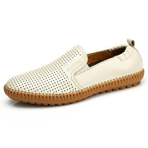 Giày lười nam gót chun Olunpo XFY1501