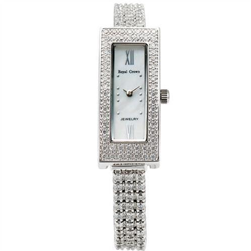 Đồng hồ nữ Royal Crown 2311L mặt chữ nhật