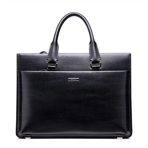 Túi da nam cao cấp Teemzone T0650 đen