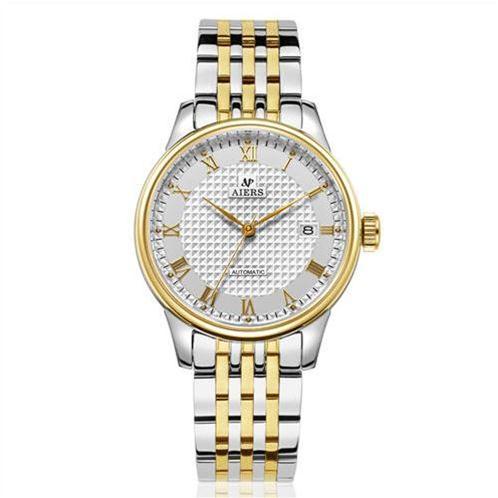 Đồng hồ cơ nam Aiers B168G số La Mã