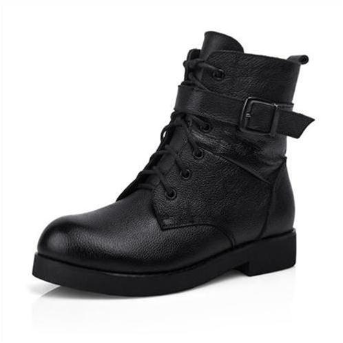 Giày da nữ Phong Cách Âu Mỹ