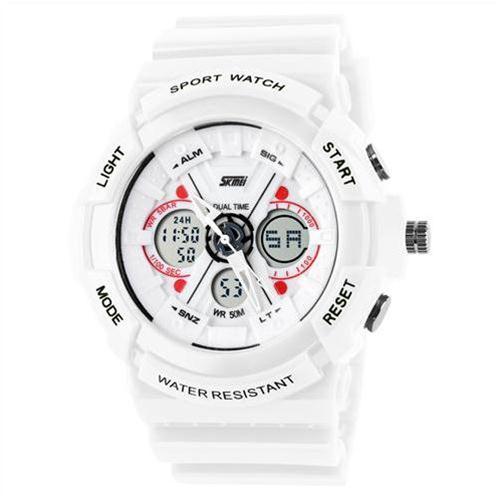 Đồng hồ thời trang Skmei SK - 0966 dual time