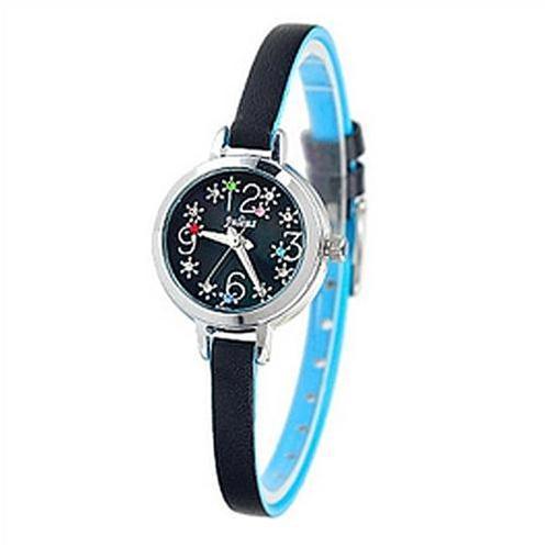 Đồng hồ nữ dây da Hàn Quốc Julius JA-725