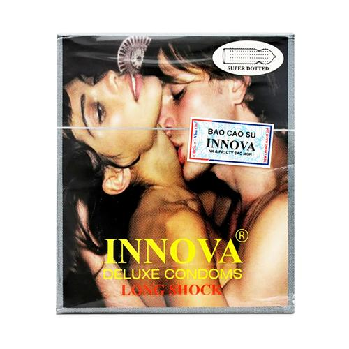 Bao cao su Innova Deluxe Condoms: Super Dotted kéo dài cuộc yêu
